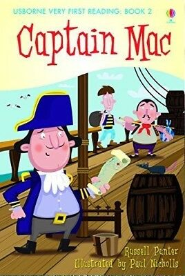 NEW USBORNE Very First Reading (1) CAPTAIN MAC paperback