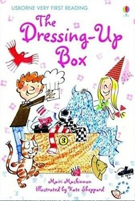 NEW USBORNE Very First Reading (2) the DRESSING UP BOX paperback