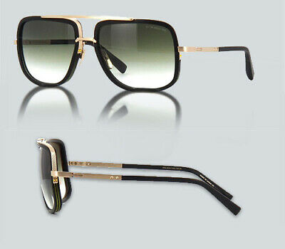 932b06974410 DITA SUNGLASSES MACH-ONE DRX-2030-J-59 Blue Silver Dark Grey Gold ...