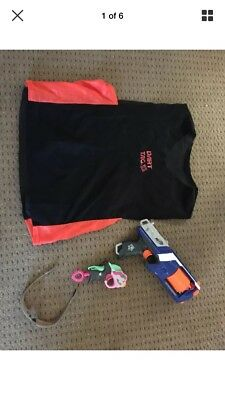 nerf business guns, bullets, Nerf tents, tunnels, barriers pop up
