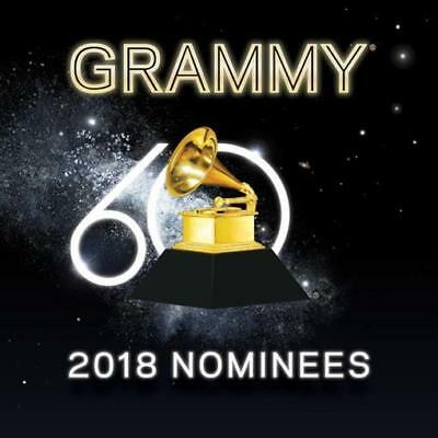2018 Grammy Nominees by Various Artists (CD, Jan-2018, RCA) NEW