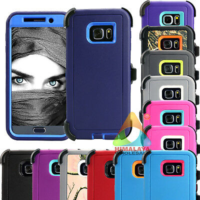 For Samsung Galaxy S6 S6 Edge Edge+ Case Y02 (Clip fits Otterbox Defender)