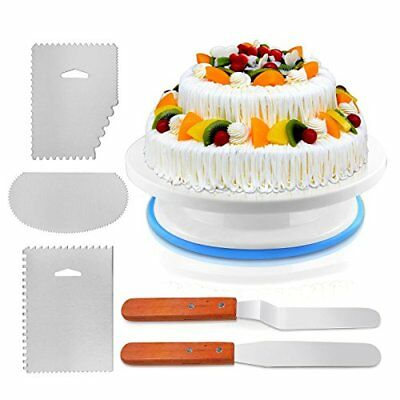 Cake Decorating Turntable, Cake Decorating Supplies With Decorating Comb/icing S