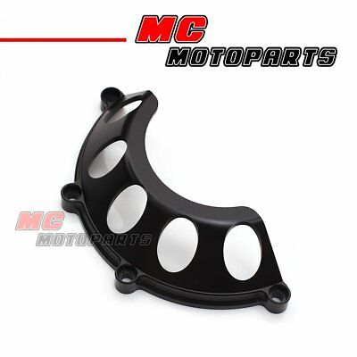 Black CNC Half Clutch Cover For Ducati Hypermotard 1100 HY M1100 M750 CC35