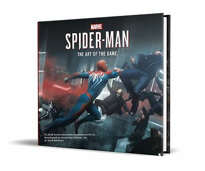 Marvel's Spider-Man 'The Art of the Game Davies, Paul
