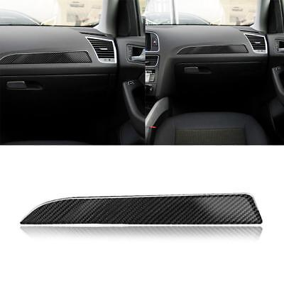 For Audi A4 B8 Instrument Panel Carbon Fiber Stickers Decorative Stickers Cover