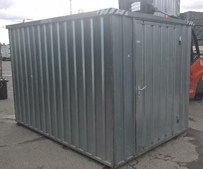 Container  Leichtbau verzinkt  Lagercontainer Blechcontainer  Nr. WR17
