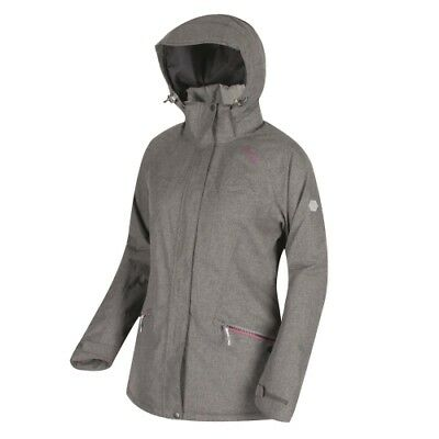 Regatta Highside III Women rock grey  Damen Winterjacke Mantel grau meliert