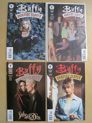 BUFFY the VAMPIRE SLAYER, 1998 SERIES :BUNDLE of 12 ISSUES all with PHOTO COVERS