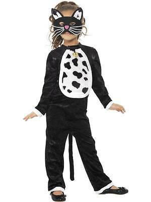 Cat Costume, All in One, Small Age 4-6, Halloween Children's Fancy Dress