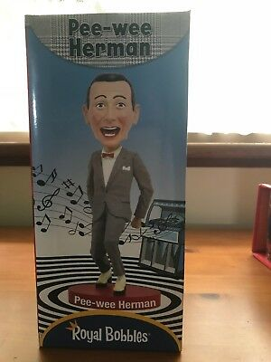 Pee-wee Herman Bobble Head-new in box-Awesome!!