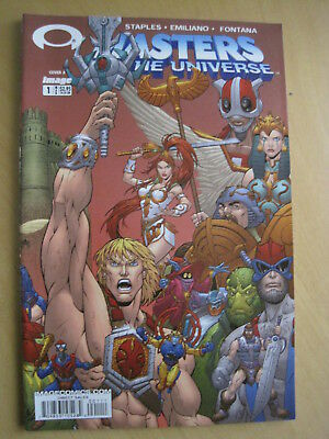 MASTERS of the UNIVERSE Vol 2, 2003 IMAGE SERIES. Issue 1