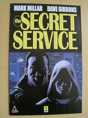 The SECRET SERVICE issue 1. KINGSMAN  by MARK MILLAR & DAVE GIBBONS.  ICON. 2013