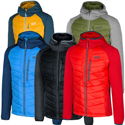 the best attitude ea4b1 cb75a JACK WOLFSKIN SKYLAND Crossing Men Jacket Herren Outdoor Hybrid Jacke  1203752