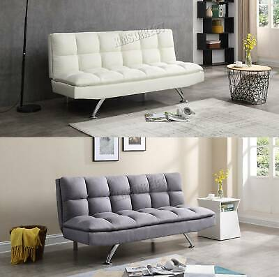 WestWood Fabric Sofa Bed Couch 3 Seater Modern Luxury Home Furniture FSB06