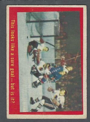 1959-60 Topps Hockey Card #28 This Looks Like A Sure Goal