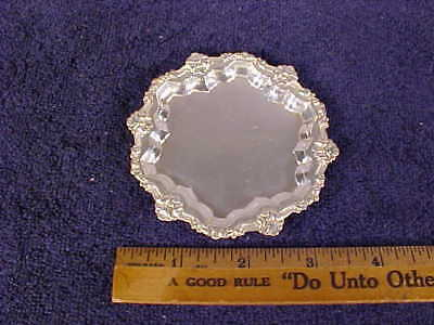 FRANK M. WHITING Co., STERLING Silver BUTTER PLATE (Sterling, 1854)