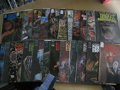 CLIVE BARKER'S Night Breed : COMPLETE RUN issues 1 - 22 + 24,25. GORY! 1990 Epic