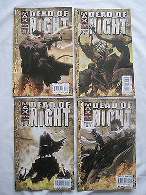 DEAD OF NIGHT : DEVIL SLAYER, COMPLETE 4 issue SERIES. EXPLICIT. MARVEL MAX.2003