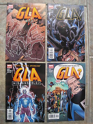 Gla / Great Lakes Avengers : Complete 4 Issue Series. Squirrel Girl. Marvel.2002