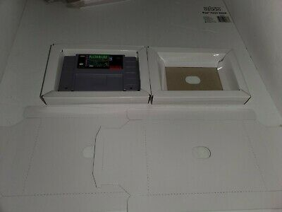 2  NEW Replacement  Full Size Cardboard Tray insert for Super Nintendo SNES R29