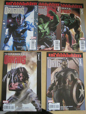 ULTIMATE ORIGINS : complete 5 issue series. Issue 2 VARIANT COVER. MARVEL.2008