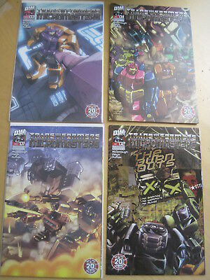 "Transformers : ""micromasters"" : Complete 4 Issue 2004 Dw Series"