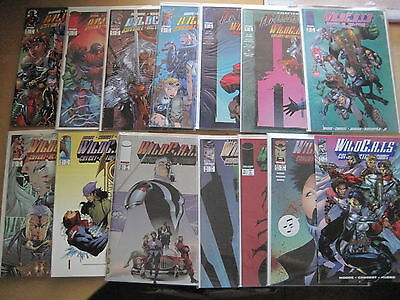 WILDCATS #s 21 - 34 : COMPLETE 14 ISSUE RUN by ALAN MOORE & CHAREST. IMAGE.1995