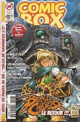 Battle Chasers Joe Mad Madureira French Variant Cover Comic Box Jim Cheung