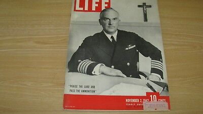 1942 Life Magazine November 2 Pass The Ammo Wwii High Grade Lowest Price On Ebay