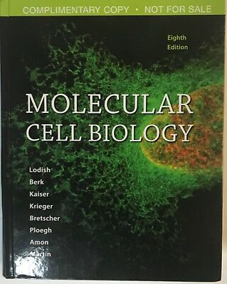 Molecular Cell Biology Student Textbook 8th Eighth Edition 109 99