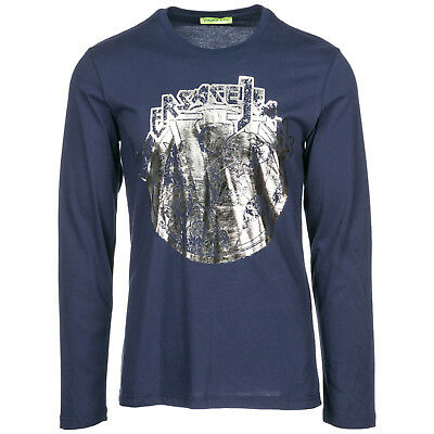 abbe94adc VERSACE MEDUSA CREW Long Sleeve Shirt Grey Small - $71.00 | PicClick