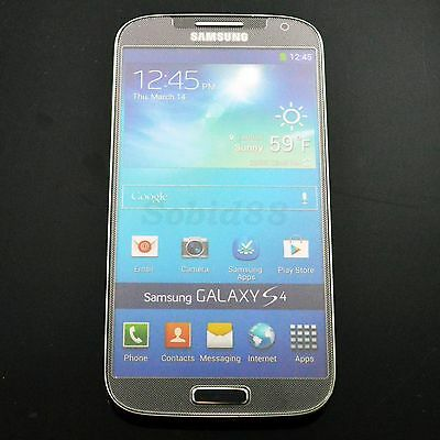 HD Clear Tempered Glass Protective Screen Protector For Samsung Galaxy S4 i9500