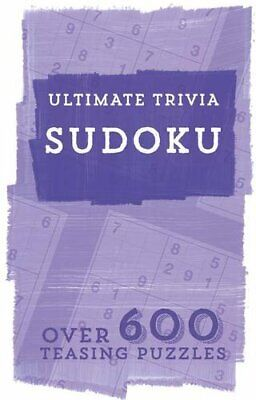 Ultimate Trivia : Sudoku by Parragon Book The Fast Free Shipping