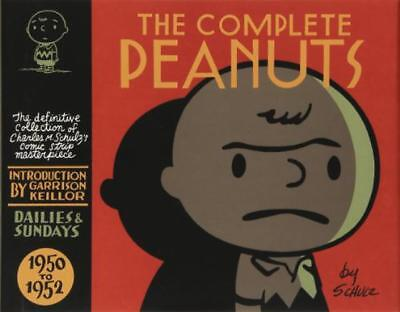 The Complete Peanuts 1950-1952 (Peanuts) by Charles M Schulz | Hardcover Book |