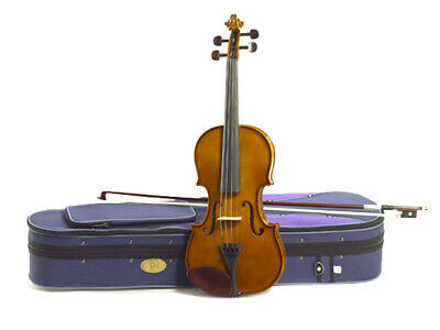 STENTOR S1434 VIOLIN PACK 3/4 SIZE Includes Case Bow Rosin