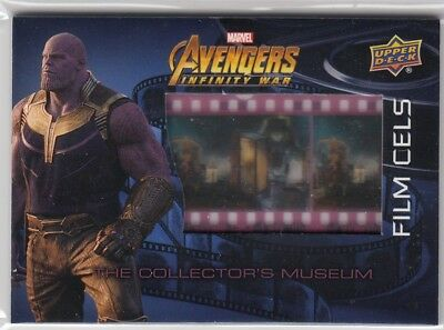 2018 Upper Deck Marvel Avengers Infinity War Film Cel Relic FC20 The Collectors