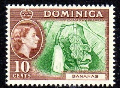 1954-62 DOMINICA 10c bananas SG150 mint unhinged
