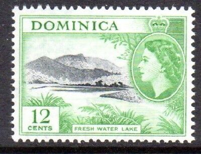 1954-62 DOMINICA 12c fresh water lake SG151 mint unhinged