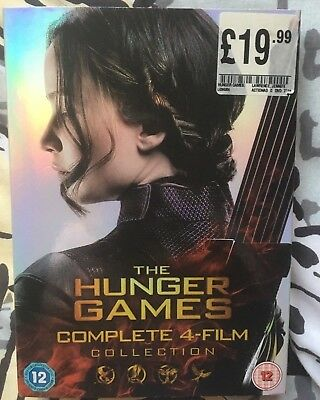 Hunger Games Box Set - complete 4 film collection - wiewed once