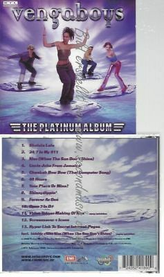 Cd--Vengaboys--    The Platinum Album |