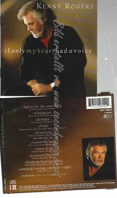 Cd--Kenny Rogers--    If Only My Heart Had A Voice