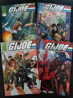 Gi Joe #1,2,3,4  J Scott Campbell Covers   All Nm   2002 Image   Comic Kings