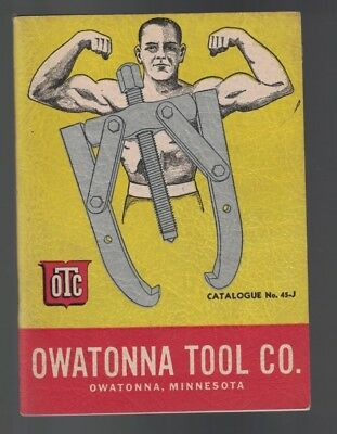 Owatonna Tool Co Catalogue #45-J Service Tools Pullers Wrenches
