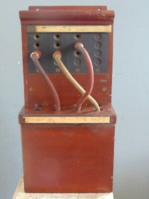 1923 TELEPHONE / TELEGRAPH SWITCHBOARD USED IN NEWPORT RI to COVER YACHT RACES