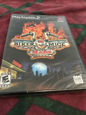 Biker Mice from Mars Sony Playstation 2 PS2 Video Game New Sealed BRAND NEW