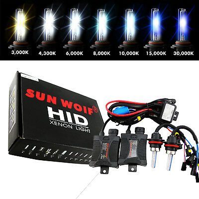 35W 55W HID Kit Xenon Conversion Headlight Fog Light 9006 H7 H4 H9 881 9004 9007