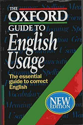 The Oxford Guide to English Usage Hardback Book The Fast Free Shipping