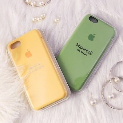 Genuine OEM For Apple iPhone 6 6S Plus 6 Plus Original Silicone Case Ultra Thin