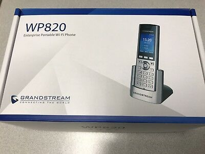 Grandstream WP820 WiFI Portable IP Phone Bluetooth VoIP--FREE--SAME DAY SHIPPING